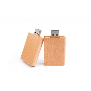 USB Stick Wood Book